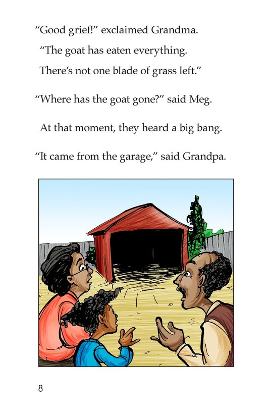 Book Preview For Grandpa's Goat Page 8