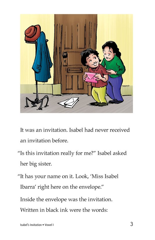 Book Preview For Isabel's Invitation Page 3
