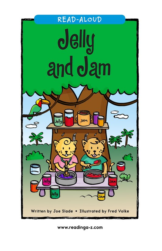 Book Preview For Jelly and Jam Page 1