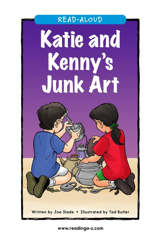 Book Preview For Katie and Kenny's Junk Art Page 1