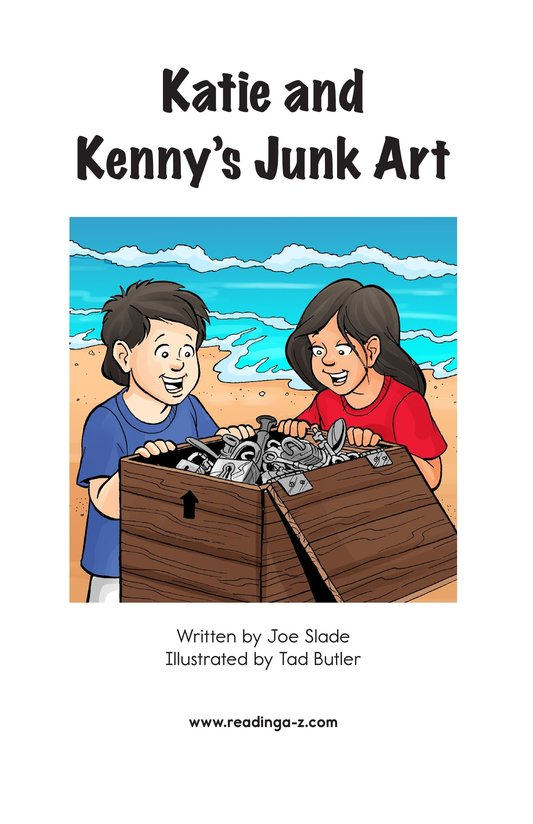 Book Preview For Katie and Kenny's Junk Art Page 2