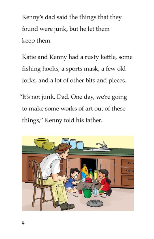Book Preview For Katie and Kenny's Junk Art Page 4