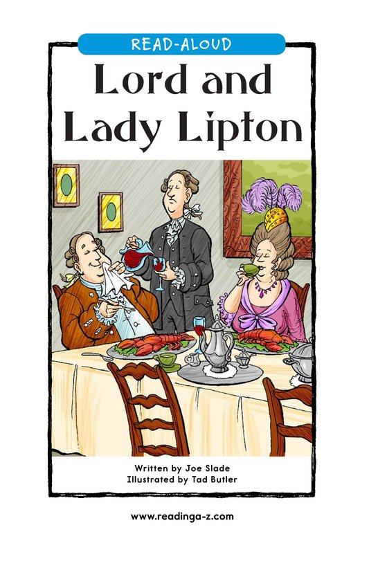 Book Preview For Lord and Lady Lipton Page 1