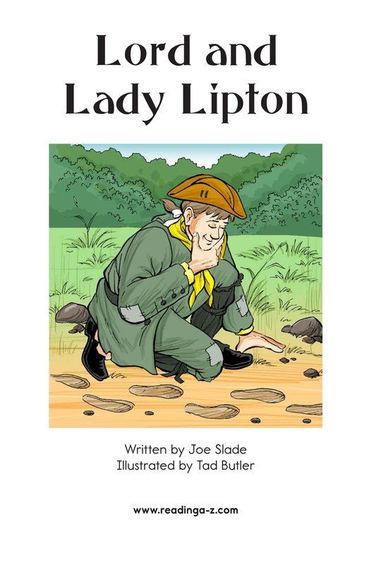 Book Preview For Lord and Lady Lipton Page 2