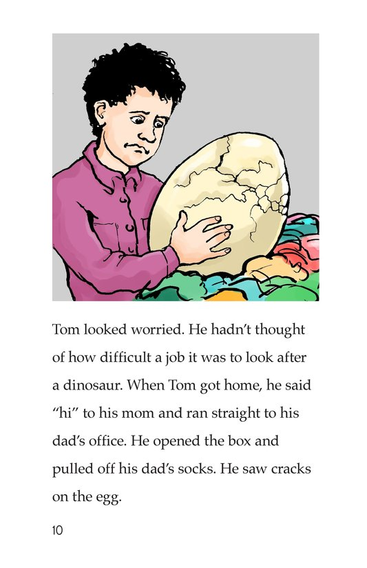 Book Preview For Tom and the Egg Page 10