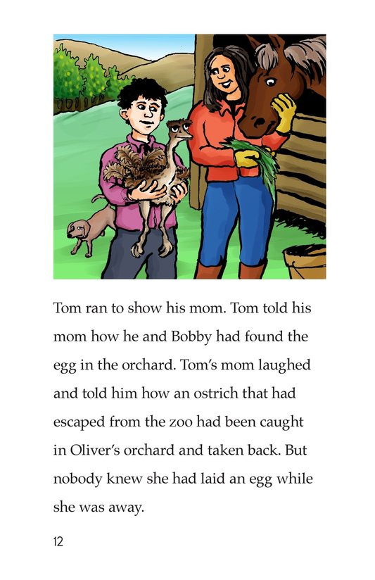 Book Preview For Tom and the Egg Page 12