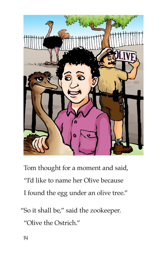 Book Preview For Tom and the Egg Page 14