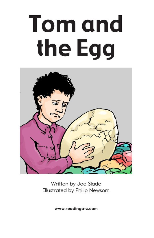 Book Preview For Tom and the Egg Page 2