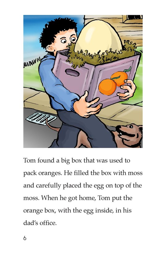 Book Preview For Tom and the Egg Page 6