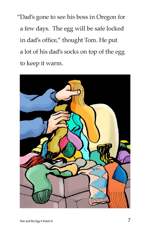 Book Preview For Tom and the Egg Page 7