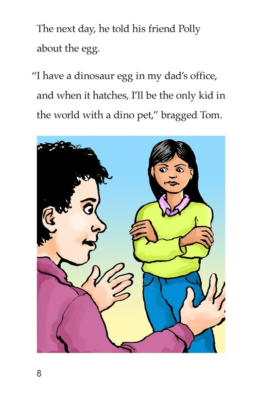 Book Preview For Tom and the Egg Page 8