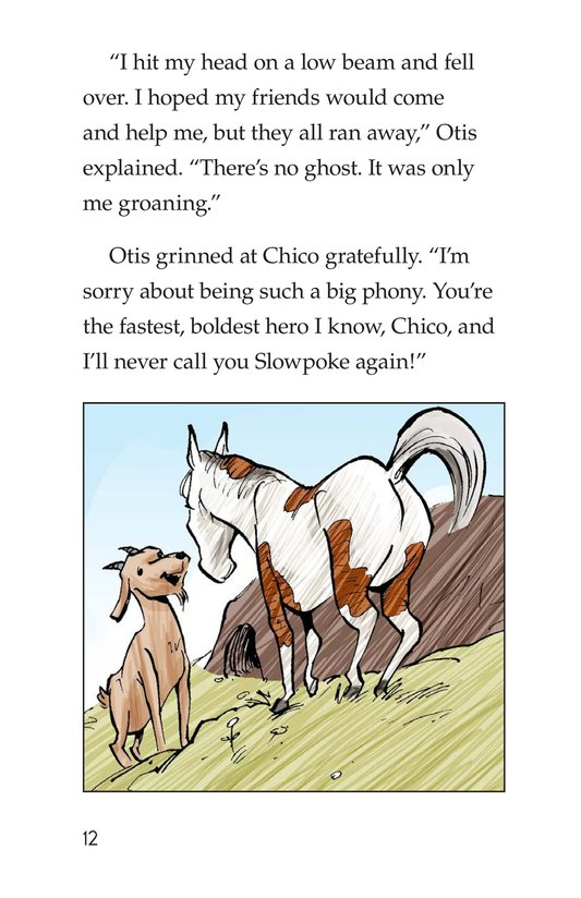 Book Preview For Chico Sees a Ghost Page 12