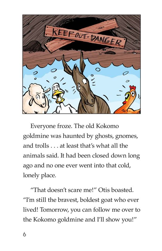 Book Preview For Chico Sees a Ghost Page 6