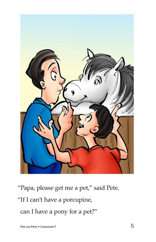 Book Preview For Pets Are Pests Page 5
