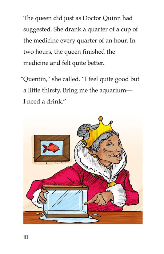 Book Preview For The Queen's Queasy Tummy Page 10