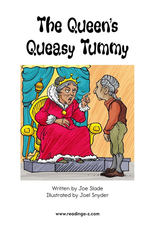Book Preview For The Queen's Queasy Tummy Page 2