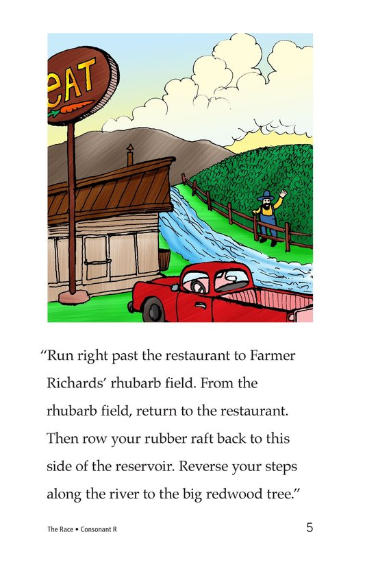 Book Preview For The Race Page 5