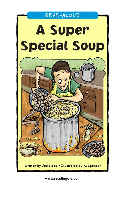 Book Preview For A Super Special Soup Page 1