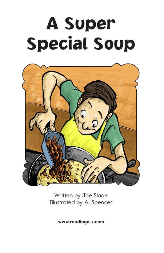 Book Preview For A Super Special Soup Page 2
