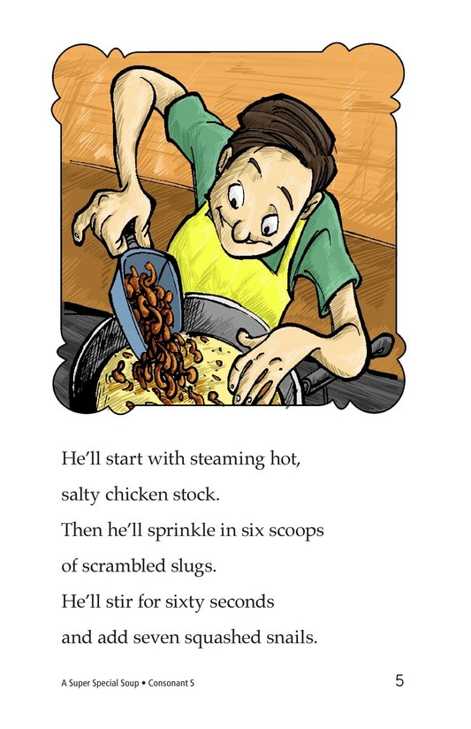 Book Preview For A Super Special Soup Page 5