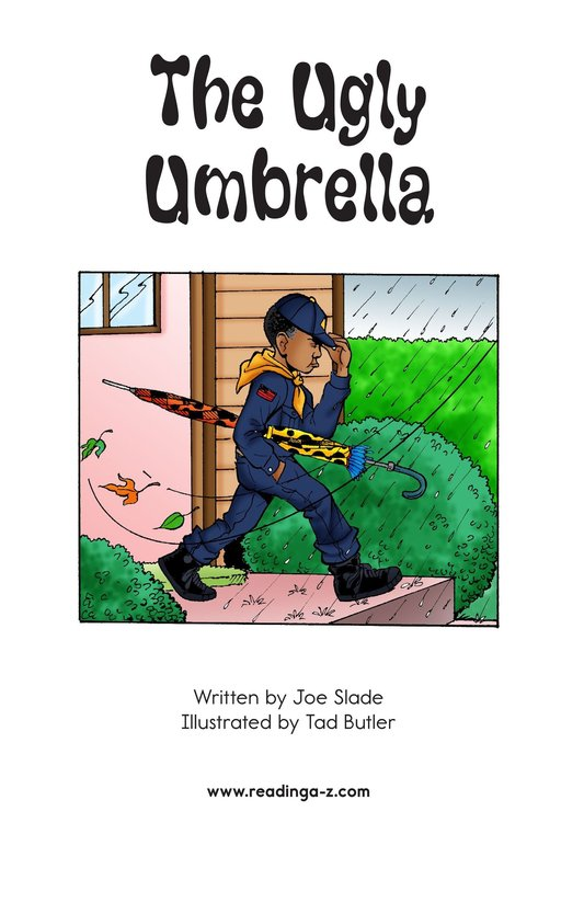 Book Preview For The Ugly Umbrella Page 2