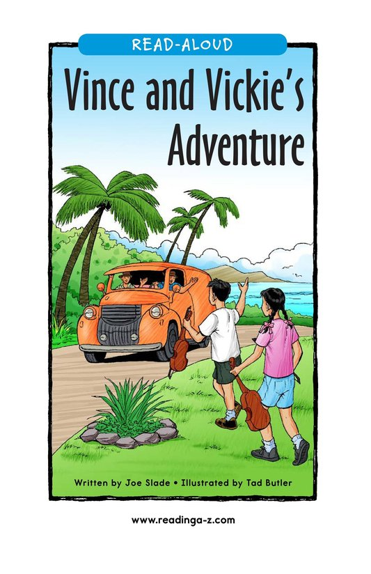 Book Preview For Vince and Vickie's Adventure Page 1