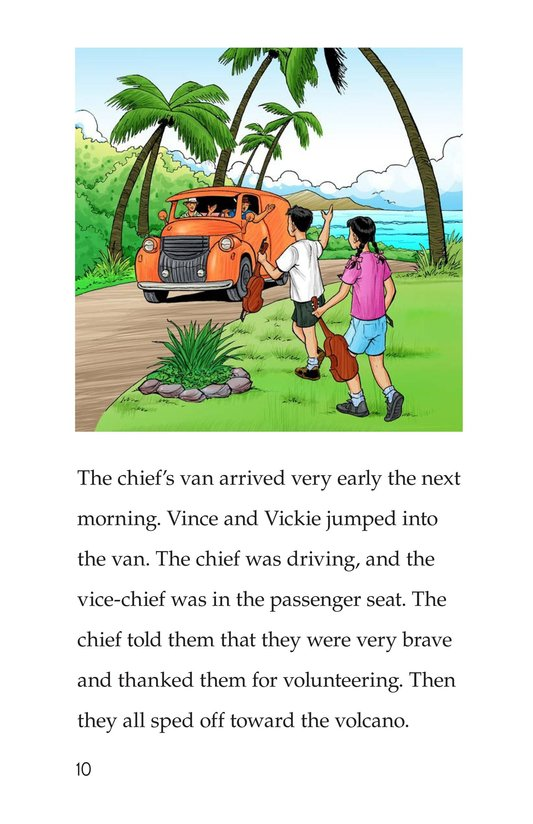 Book Preview For Vince and Vickie's Adventure Page 10
