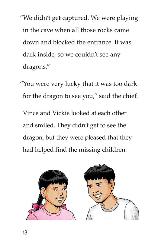 Book Preview For Vince and Vickie's Adventure Page 18