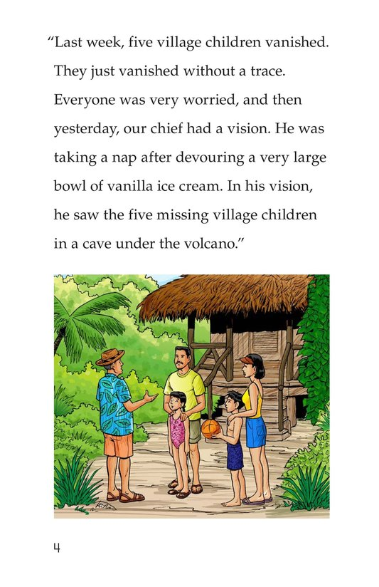 Book Preview For Vince and Vickie's Adventure Page 4