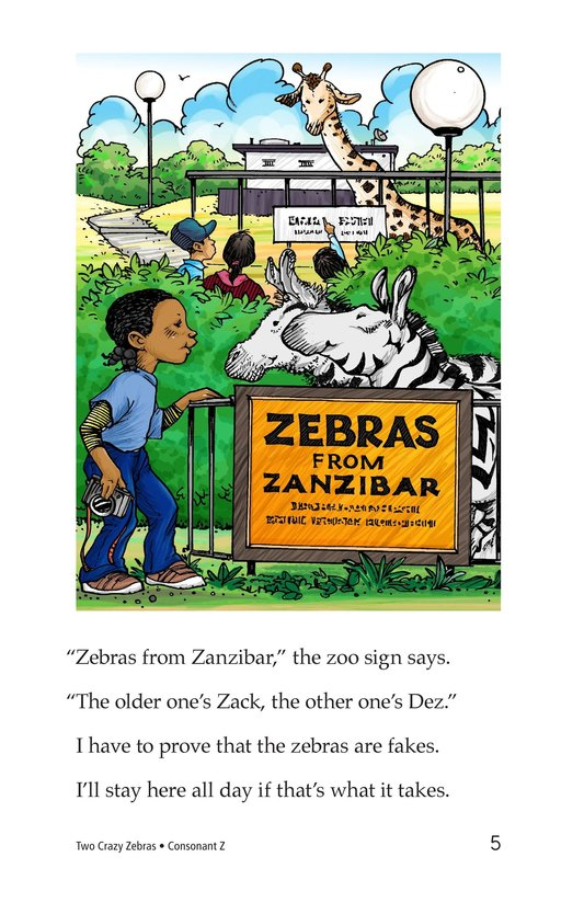 Book Preview For Two Crazy Zebras Page 5