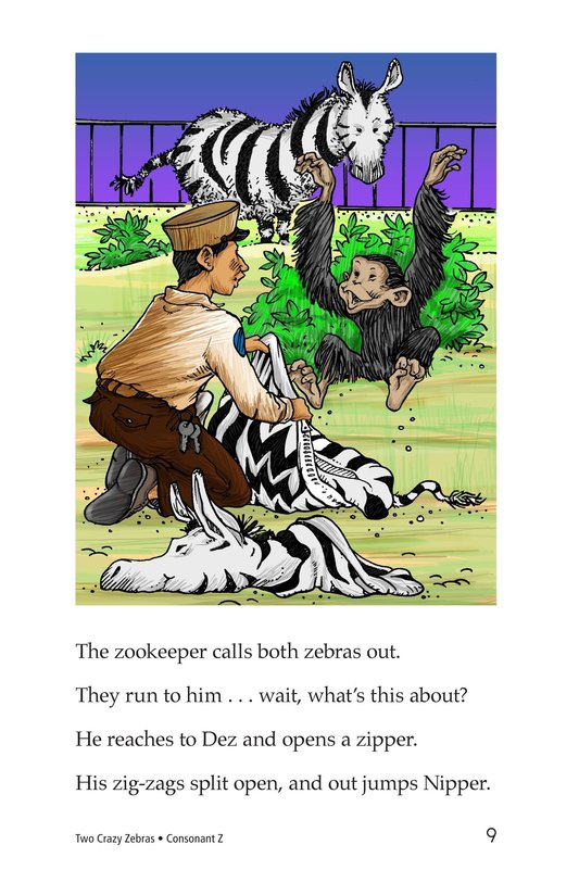 Book Preview For Two Crazy Zebras Page 9