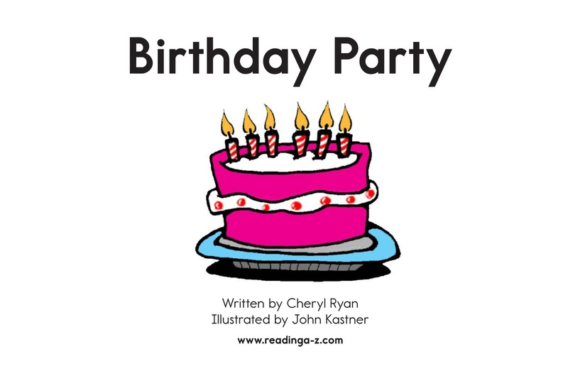 Book Preview For Birthday Party Page 2