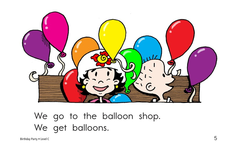 Book Preview For Birthday Party Page 5