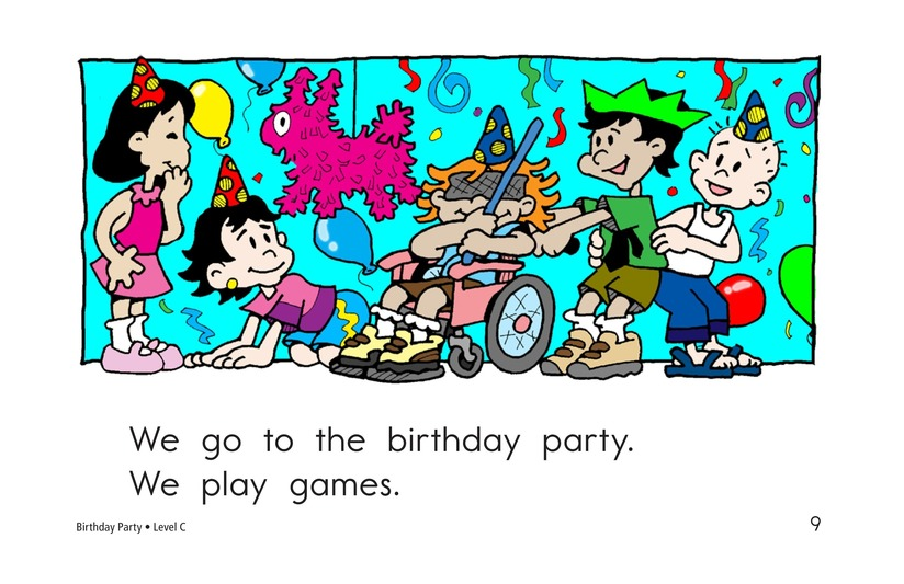 Book Preview For Birthday Party Page 9