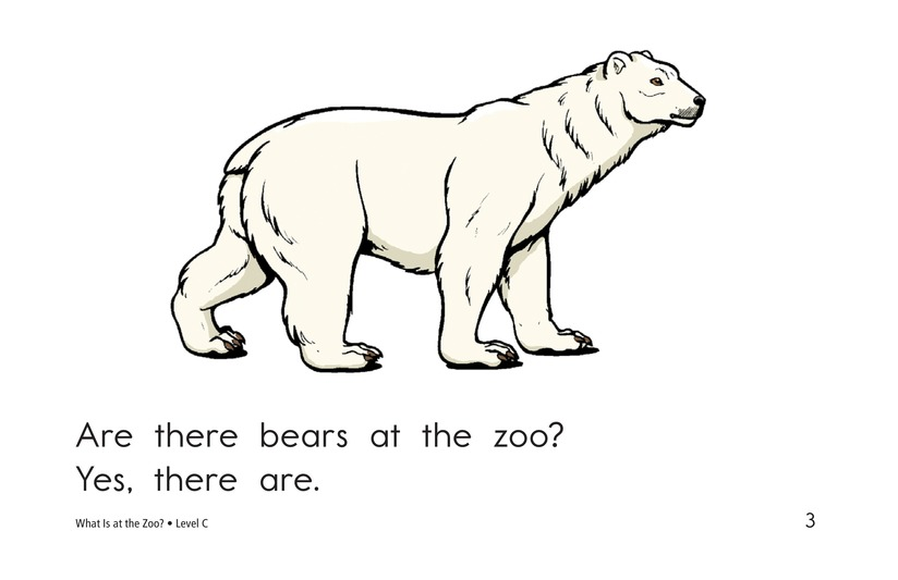 Book Preview For What Is at the Zoo? Page 3