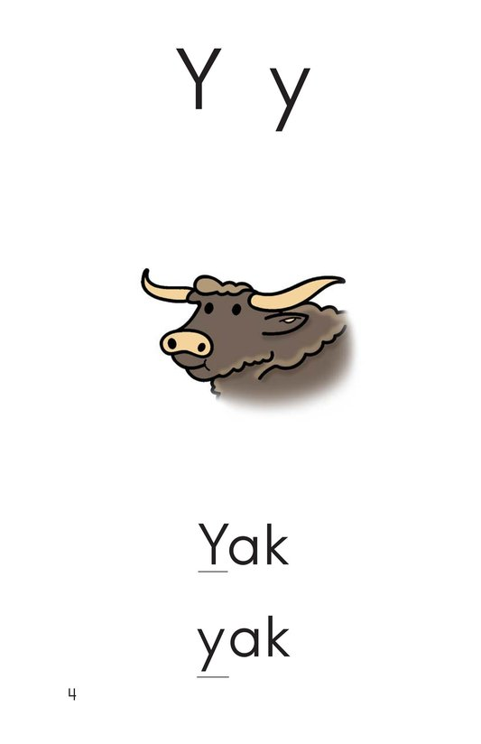 Book Preview For Consonant Letter Y Page 5