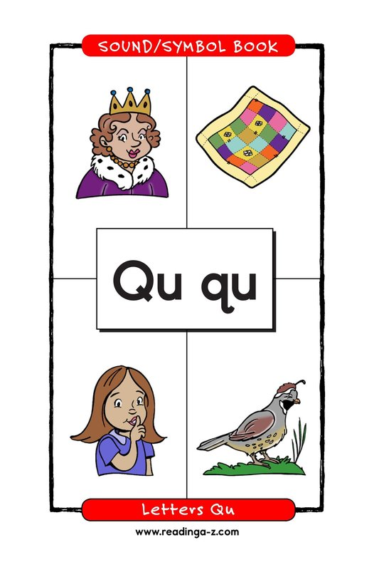 Book Preview For Consonant Letter Q Page 1