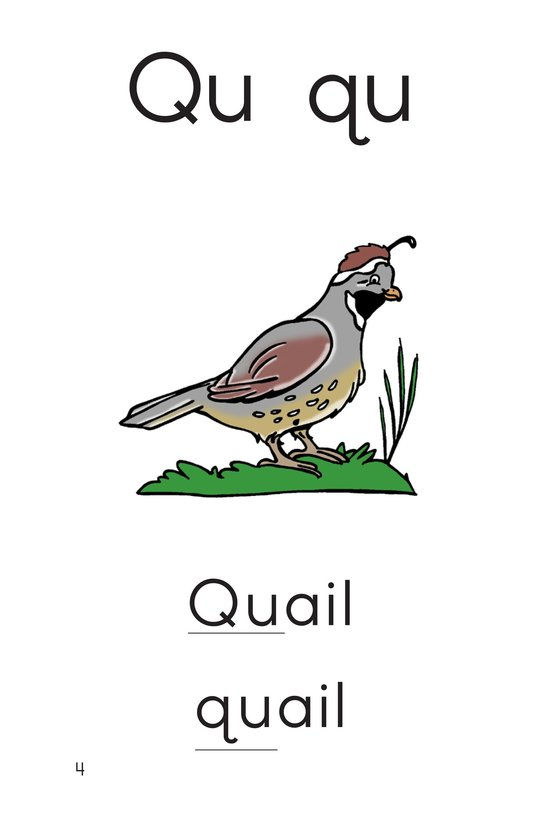 Book Preview For Consonant Letter Q Page 5