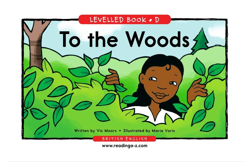 Book Preview For To the Woods Page 1