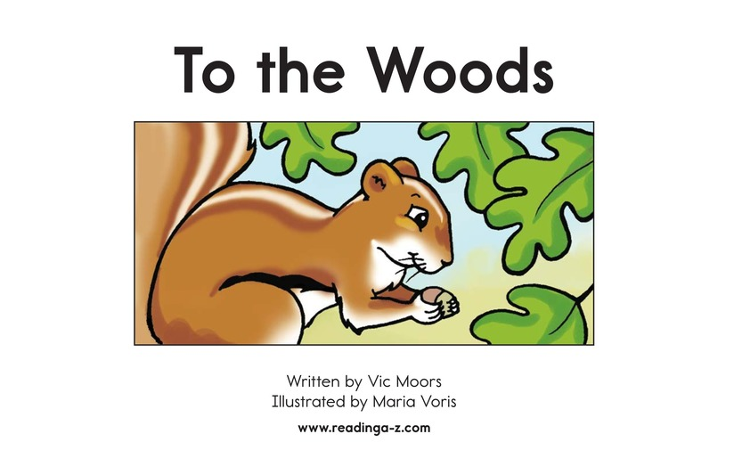 Book Preview For To the Woods Page 2