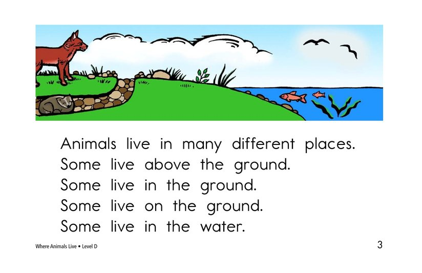Book Preview For Where Animals Live Page 3