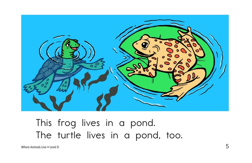 Book Preview For Where Animals Live Page 5