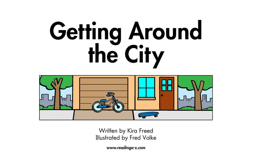 Book Preview For Getting Around the City Page 2