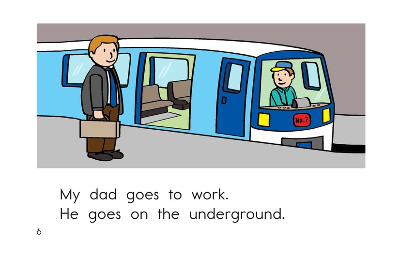 Book Preview For Getting Around the City Page 6