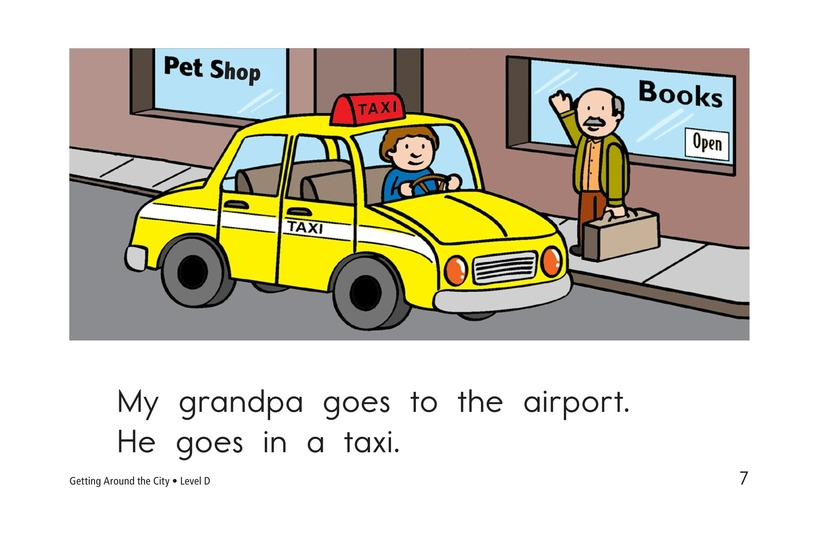 Book Preview For Getting Around the City Page 7
