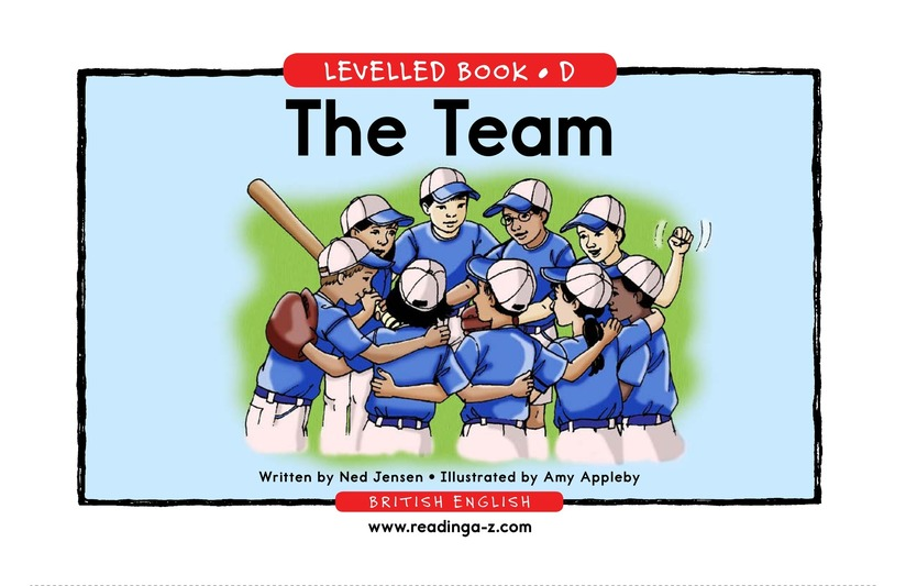 Book Preview For The Team Page 1