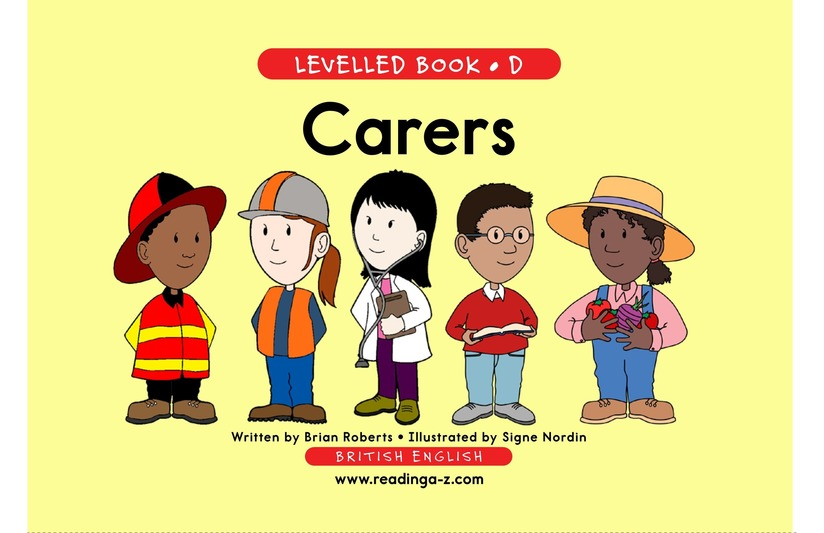 Book Preview For Caretakers Page 1
