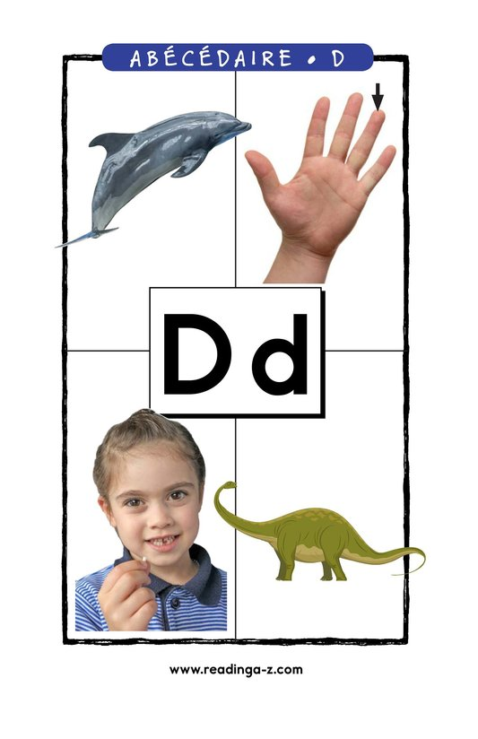 Book Preview For Letter D Page 1
