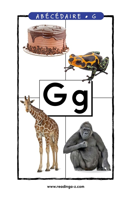 Book Preview For Letter G Page 1