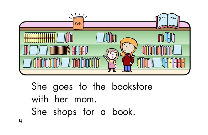 Book Preview For To the Store Page 4